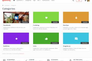 AskBug categories page