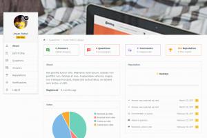 AskBug new user profile